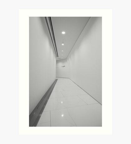 Porsche Museum - Hallway 2 Art Print