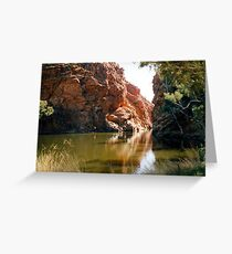 Ellery Creek Big Hole Greeting Card