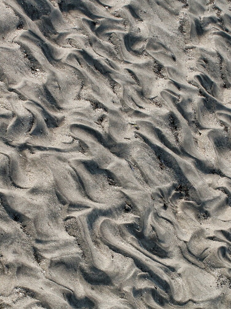 Patterns In Sand 5 by wselander