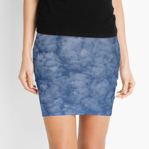 Altocumulus Abstract 2 Mini Skirt
