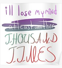 Lose My Mind Poster