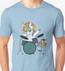 Schlagzeuger Einhorn Unisex T-Shirt