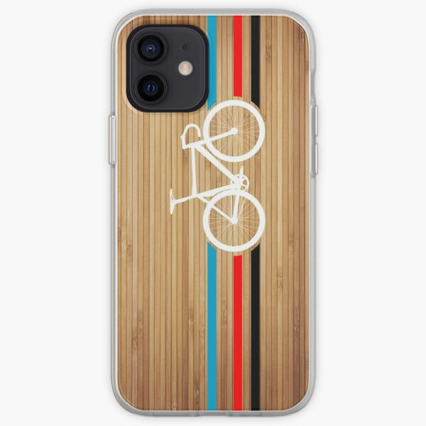 Bike Stripes Velodrome iPhone Soft Case