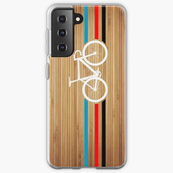 Bike Stripes Velodrome Samsung Galaxy Soft Case