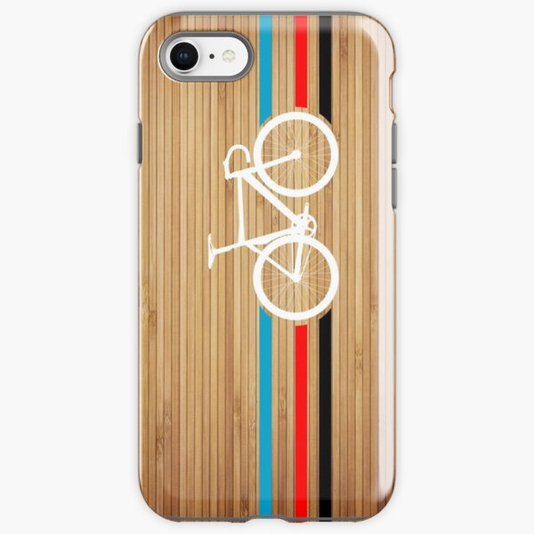 Bike Stripes Velodrome iPhone Tough Case
