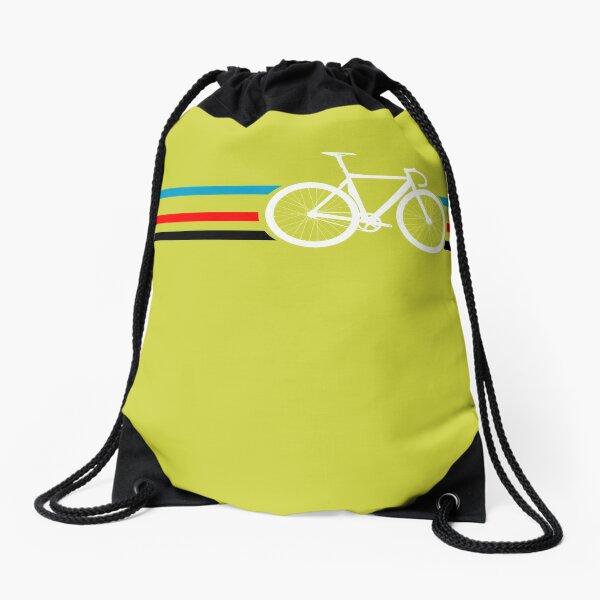 Bike Stripes Velodrome Drawstring Bag