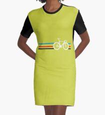 Bike Stripes Velodrome Graphic T-Shirt Dress