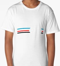 Bike Stripes Velodrome Long T-Shirt
