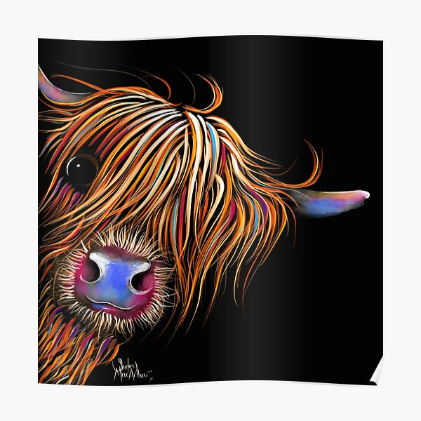 HiGHLaND PRoNT SCoTTiSH 'SuGaR LuMP 2' VON SHiRLeY MacARTHUR Poster