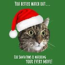 Carolling Christmas Furries – Tabby Cat (white text) by RulaVam