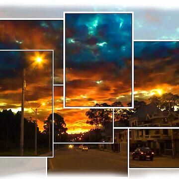Spectacular Sunrise In Cuenca, Ecuador by alabca