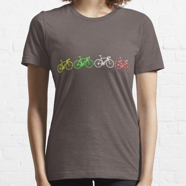 Bike Stripes Tour de France Jerseys v2 Essential T-Shirt