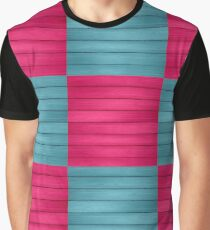 pretty in pink and blue Graphic T-Shirt