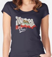 New Vegas - Circa 2281 Women's Fitted Scoop T-Shirt