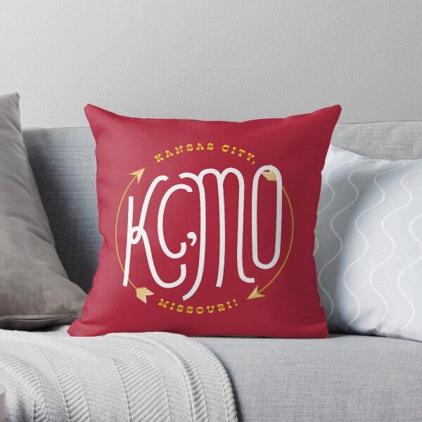 Kansas City Series: Chiefs Throw Pillow