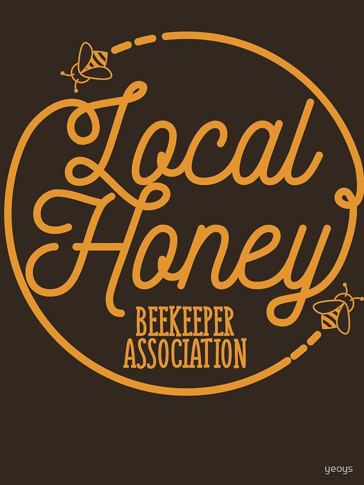 Local Honey Beekeeper Association - Beekeeping Gift von yeoys