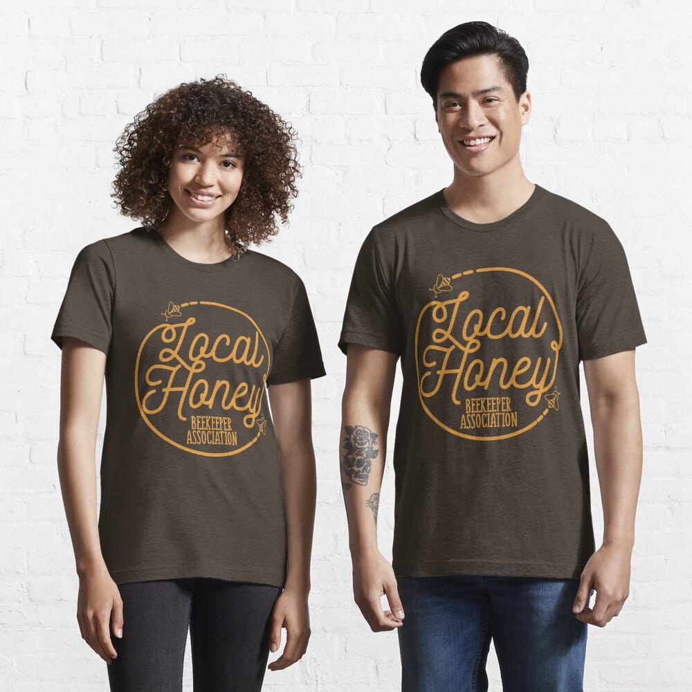 Local Honey Beekeeper Association - Beekeeping Gift Essential T-Shirt