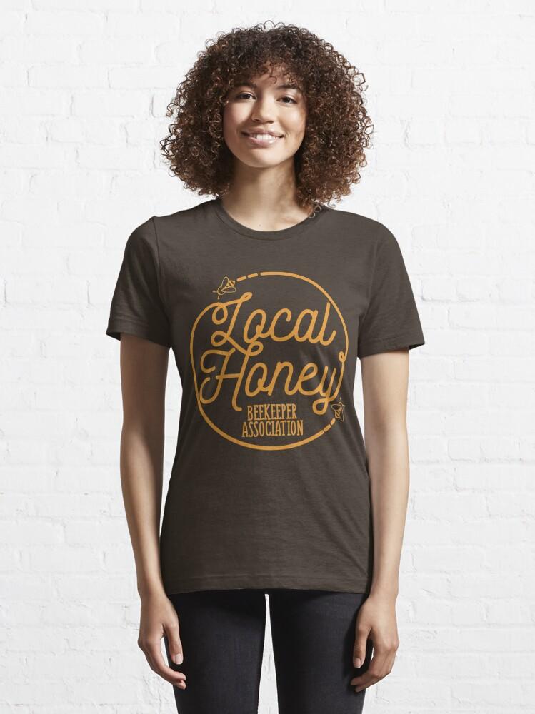 Alternative Ansicht von Local Honey Beekeeper Association - Beekeeping Gift Essential T-Shirt