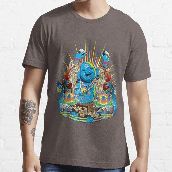 kitzle seinen Bauch und er wird Glück und Glück schenken Essential T-Shirt
