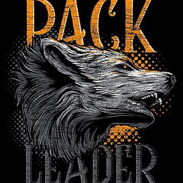 Wolf Alphatier by GeschenkIdee