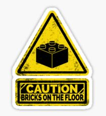Watch Your Steps Sticker