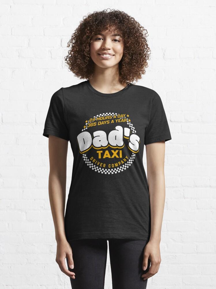 Alternative Ansicht von Dad's Taxi Driver Company - Cool Dad Gift Essential T-Shirt