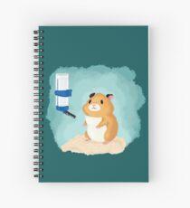 Hamster life Spiral Notebook