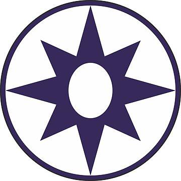 Purple Star by choppy777