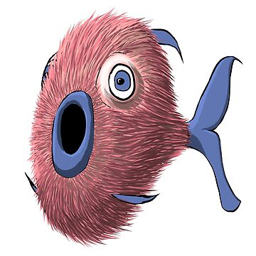 Furry Fish by niry