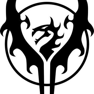 Legion of Everblight Crest by littlegemma