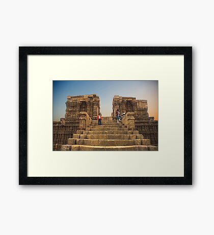 Konark Temple-1 Framed Print