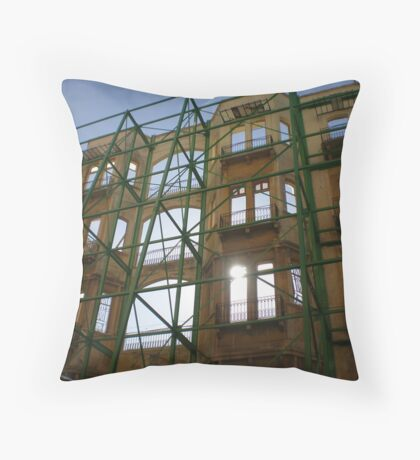 a new day.... a new look Throw Pillow
