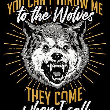 Wolf animal by GeschenkIdee