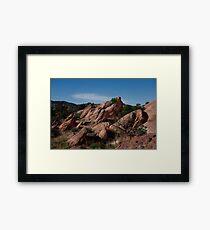 Vasquez Rocks Framed Print