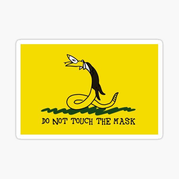 Touchn't Sticker