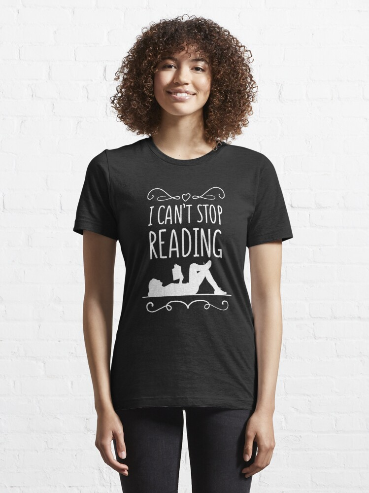 Alternative Ansicht von I Can't Stop Reading Introverts - Introverts Quotes Gift Essential T-Shirt