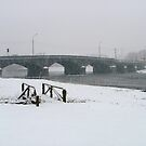 Mallow under snow - Mallow Town bridge by Jason Kiely