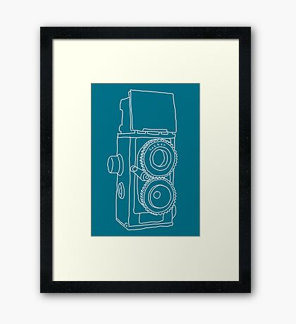 A really handmade camera Framed Print