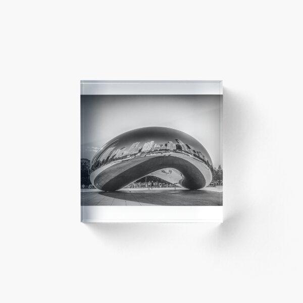 The Chicago Bean Acrylic Block