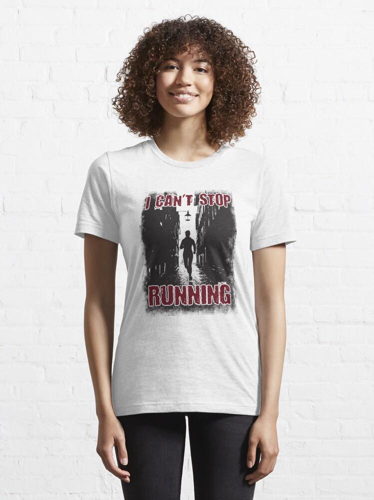 Alternative Ansicht von I Can't Stop Running Introverts - Introverts Quotes Gift Essential T-Shirt