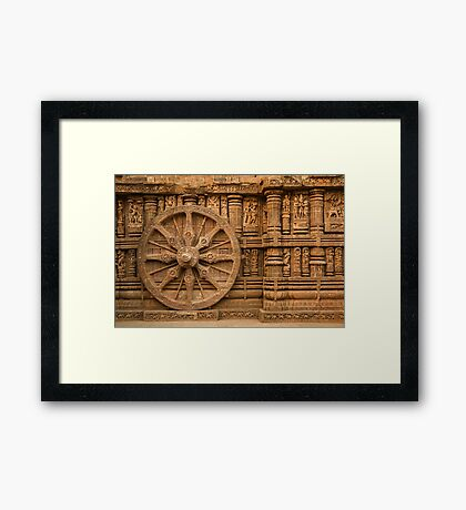 Konark Temple-2 Framed Print