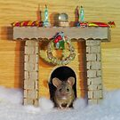 Christmas mouse  by Simon-dell