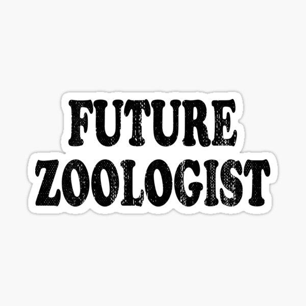 Future Zoologist Sticker