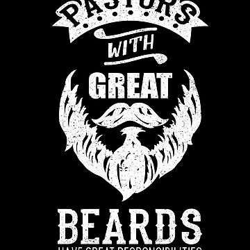 Pastors With Great Beards Hair Christian Church by kieranight