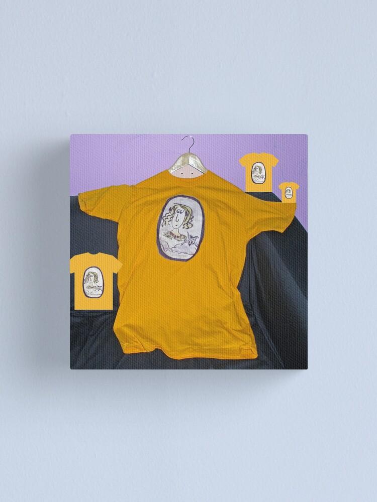 Alternate view of Hanging around Canvas Print