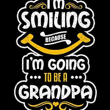 Smiling I'm Going To Be a Grandma Baby Pregnancy by kieranight
