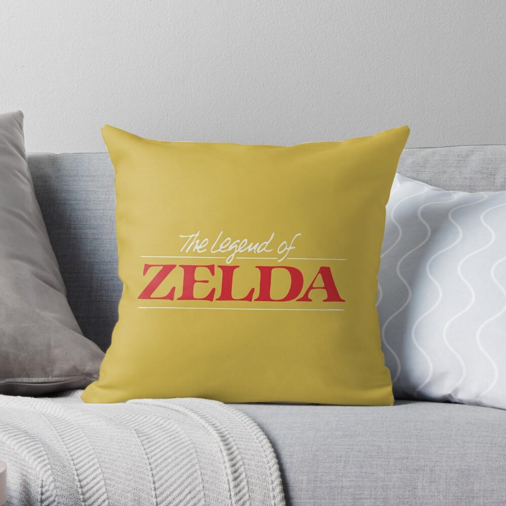 Legend of Zelda - Logotipo Cojín