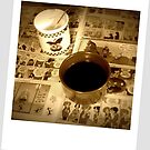 Coffee With The Funnies  by Linda Miller Gesualdo