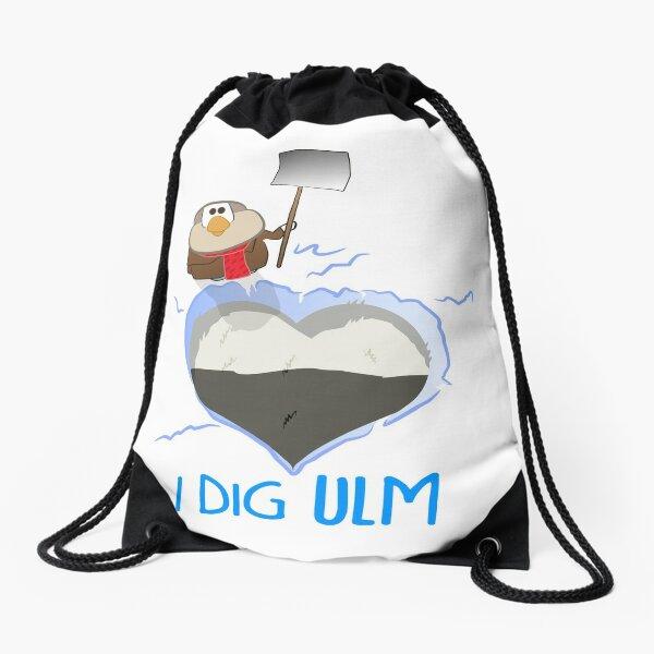 I Dig Ulm Drawstring Bag