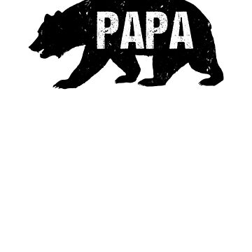 Vintage Papa Bear by CasualMood